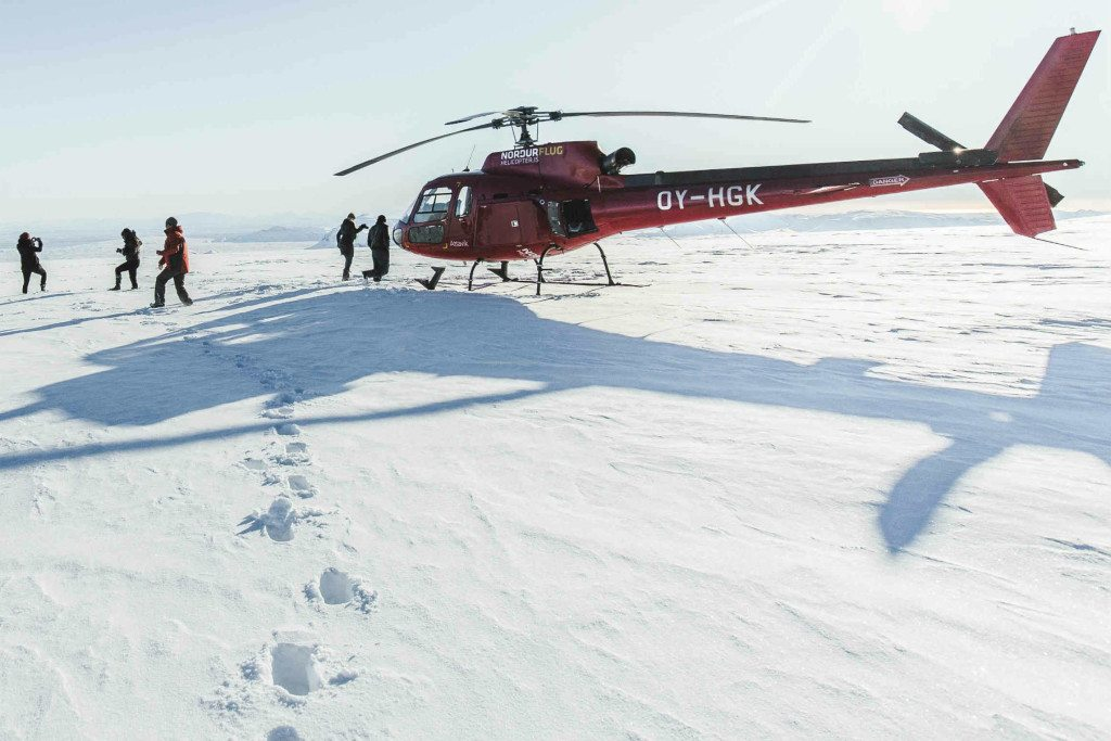 Fire And Ice Helicopter Tour Iceland