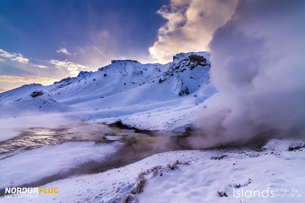 Geothermal in the snow