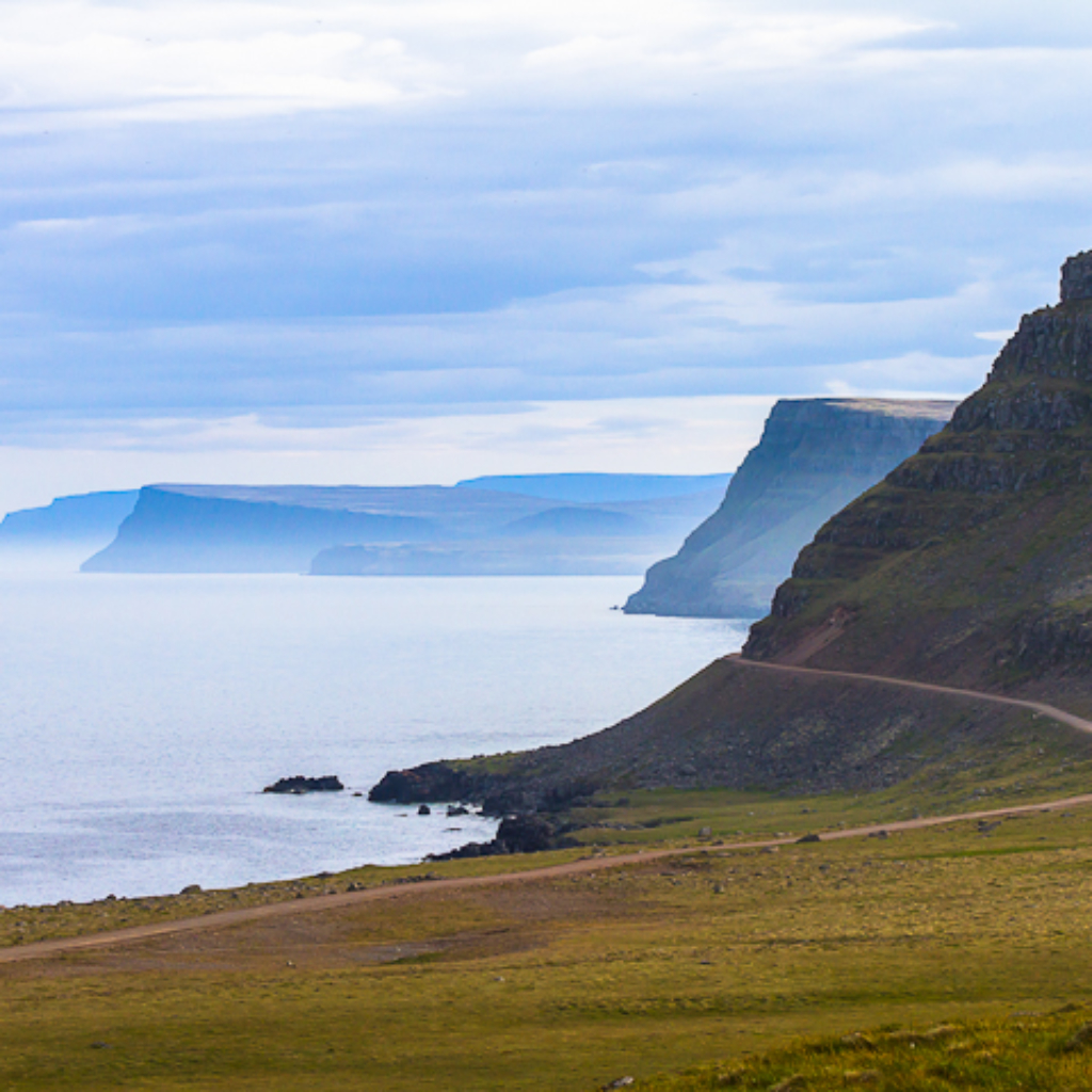 Westfjords helicopter tour Iceland