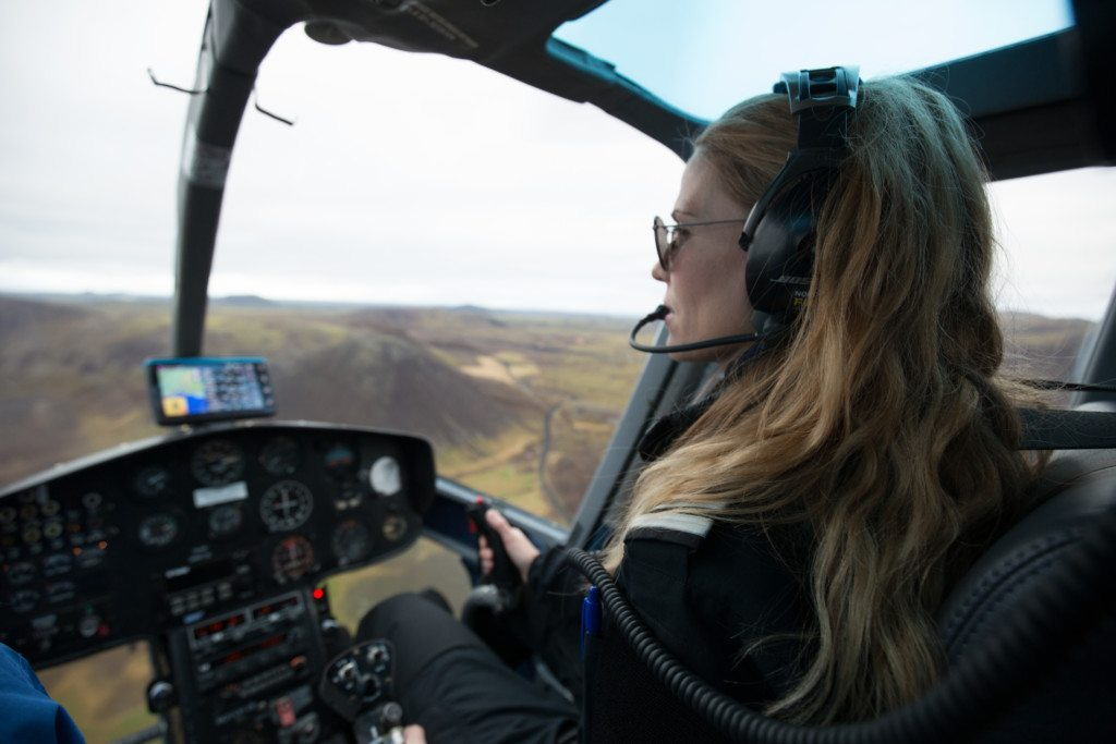On of our pilots guiding the Reykjavik summit tour
