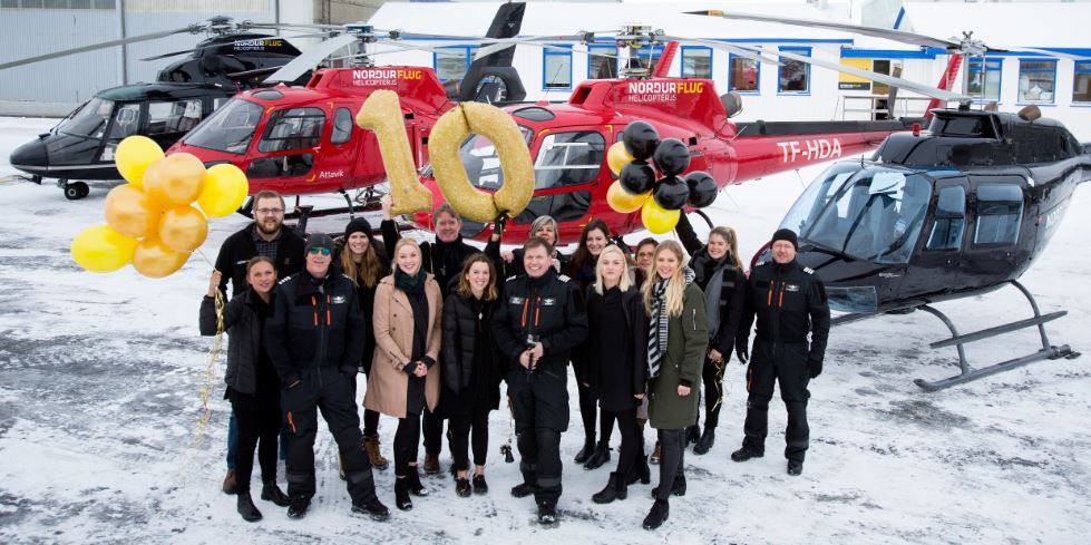Team Nordurflug Helicopter tours